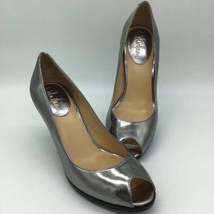 Cole Haan Nike Air Metallic Heels Size 9 AA